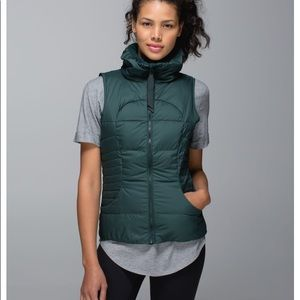 Lululemon fluffin awesome vest in fuel green 6